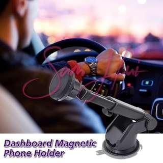 Long Arm Adjustable Magnetic Dashboard / Windscreen Phone Holder