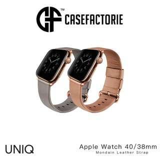 Uniq Mondain Leather Strap for Apple Watch 4/3/2/1 40MM/38MM