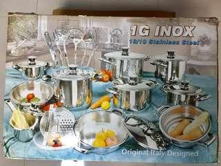 Brand New In Box Authentic KOONEX Stainless Steel Set