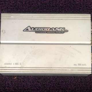 Rockford Woofer & Audiobank Amp