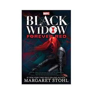 Black Widow - Forever Red paperback - new, sealed copy