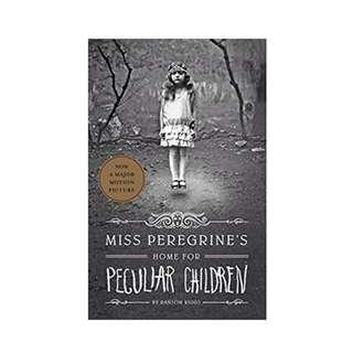 Miss Peregrine's Home For Peculiar Children paperback new n sealed