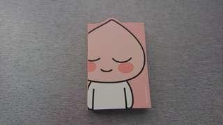 全新Kakao Friends Apeach Memo Pad 便利貼