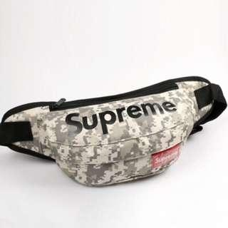 🚚 INSTOCK‼️ Camo Supreme Crossbody Sling Bag Waist Pouch ( 3 COLORS STILL AVAIL!)