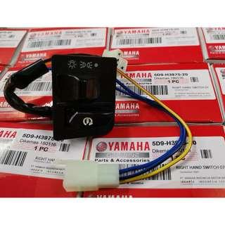 YAMAHA Y15ZR SWITCH ON OFF 3 STEP FUNCTION
