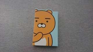 全新Kakao Friends Ryan Memo Pad 便利貼