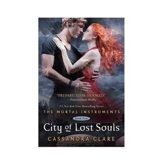 The Mortal Instrument - City of Lost Souls hardcover hard cover