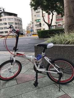 變速折疊式自行車(近全新、MIT)