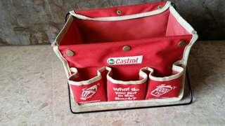 Castrol accesories fordable container
