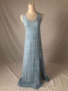 Beachgold maxi dress