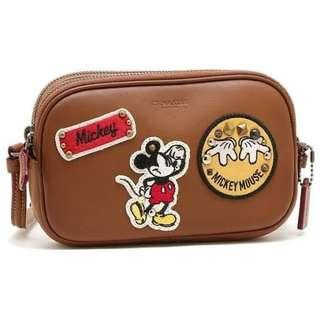 Authentic Coach x Mickey Mouse Bag