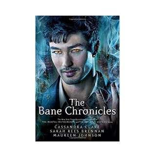The Bane Chronicles - The Mortal Instrument - hardcover hard cover hardback