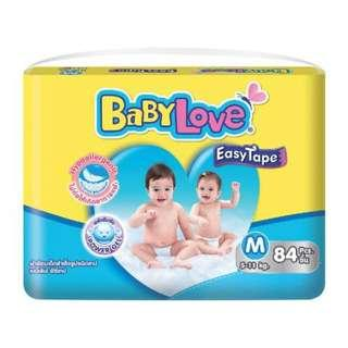 🚚 Babylove Easy Tape Diapers