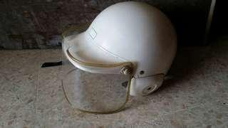 Vintage bike helmet