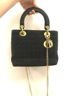 FASTSALE AUTHENTIC LADY DIOR VINTAGE RARE ITEM