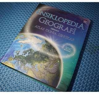 ENSIKLOPEDIA GEOGRAFI DENGAN ATLAS DUNIA, Penerbit PT Bhuana Ilmu Populer, Bekas