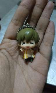 Figure makoto tachibana mini keychain
