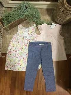 H&M baby set 12mths dress 12-18mths outfit