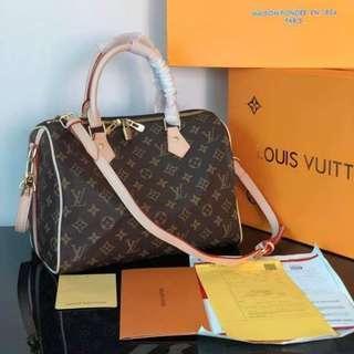 Authentic LV Speedy Bandouliere Doctors Bag CM039