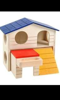 *PO* Colorful foldable hamster house