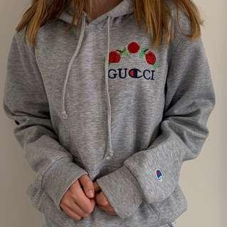 Champion x Gucci rose jumper