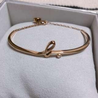 二手商品✖️ agnes.b 玫瑰金 手鏈 手環