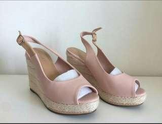 Vincci Dusty Pink Wedges