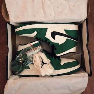 d5bb515921 Air jordan midpine green