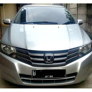 Honda City E RS AT 2010 Silver - KM 55RB ASLI - Komplit