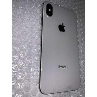 Apple iPhone X - 256GB - Silver  (Unlocked)