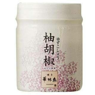 🚚 ♦️現貨不用等♦️🇯🇵日本博多華味鳥 柚子胡椒30g