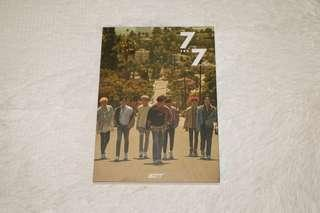 FREE SHIPPING: GOT7 7FOR7 ALBUM (Thailand ver)