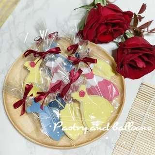 Customise Princess cookies