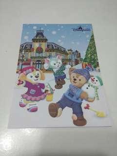 (包平郵)香港迪士尼樂園明信片 (1張)