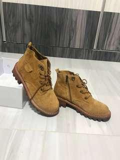 🚚 BNIB‼️Timberland Brown Boots Leather Women Shoe (Inspired)