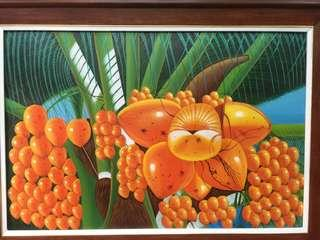 Painting 32 x 44 inch fixed price