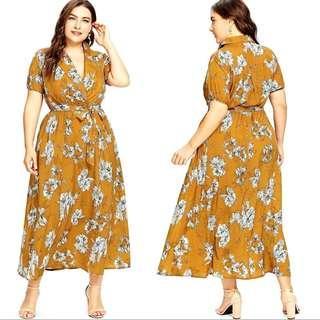 Plussize Maxi dress
