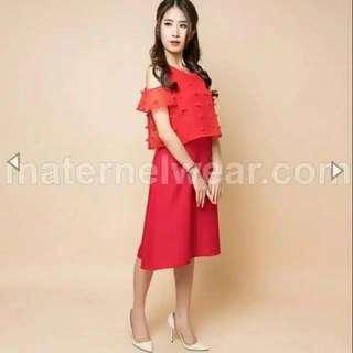 SABRINE Nursing Dress