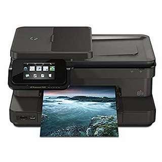 HP Photosmart 7520 雲端全能相片傳真16合1(相片噴墨多功能事務機)(二手,冇墨,冇保養)