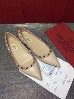 Valentino Rockstud ballet Pointed flat Shoes CM040