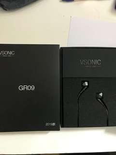 gr09 Vsonic GR 09 耳機 95%新