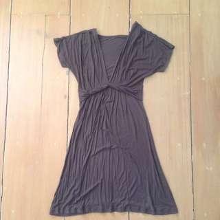 Cotton Brown Dress