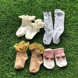 🚚 Baby Socks 0-2 years