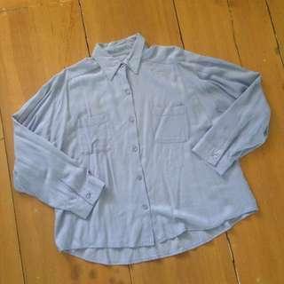 GU Denim Cotton Polo