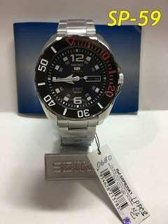 Seiko automatic with 1year warranty watch free shipping