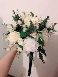 婚禮用 絲花花球