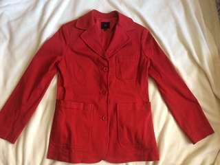 U2 Dark Red Blazer (100% Authentic)