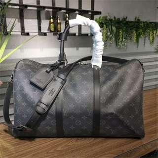 Authentic LV Keepall 45 Bandouliere Travel Bag CM041