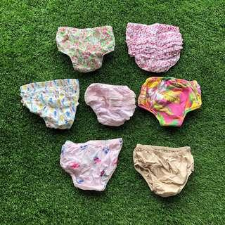 🚚 Assorted Diaper Covers 0-24m