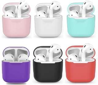 🚚 INSTOCK‼️ Apple AirPods Silicone Case Brand New